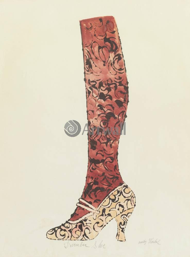 Уорхол Энди, картина Декабрьская обувьУорхол Энди<br>Репродукция на холсте или бумаге. Любого нужного вам размера. В раме или без. Подвес в комплекте. Трехслойная надежная упаковка. Доставим в любую точку России. Вам осталось только повесить картину на стену!<br>