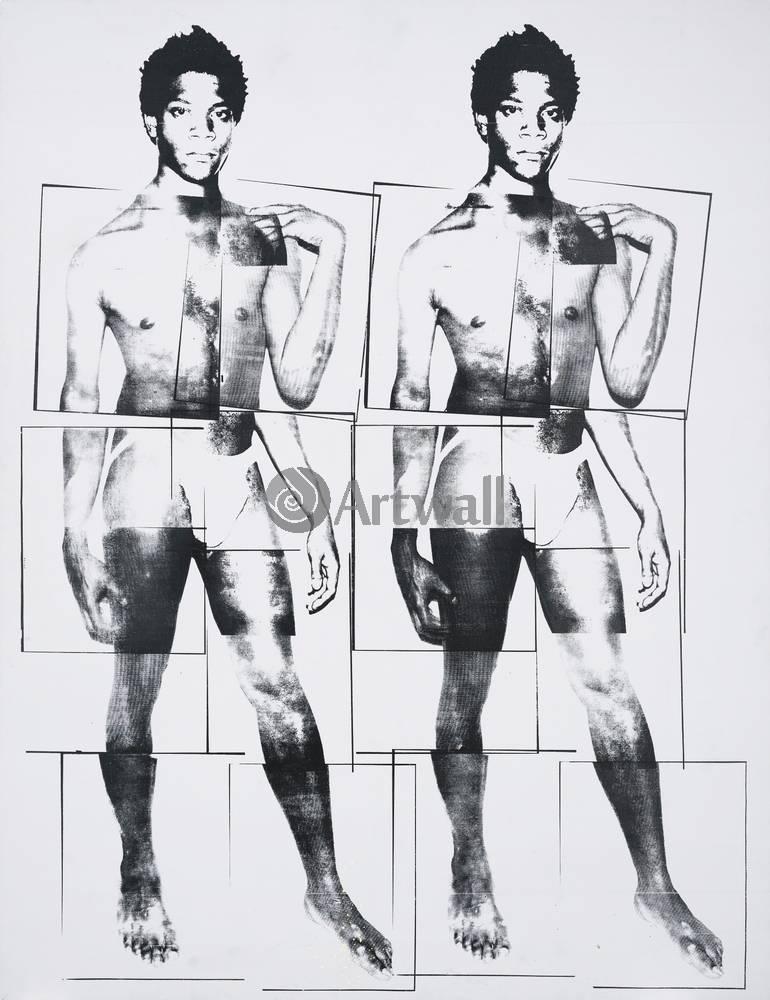 Уорхол Энди, картина Жан-Мишель как ДавидУорхол Энди<br>Репродукция на холсте или бумаге. Любого нужного вам размера. В раме или без. Подвес в комплекте. Трехслойная надежная упаковка. Доставим в любую точку России. Вам осталось только повесить картину на стену!<br>