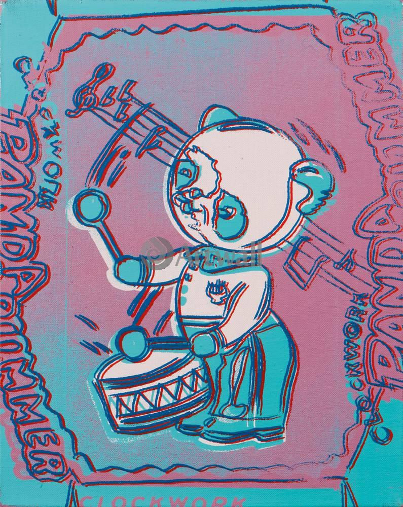 Уорхол Энди, картина Заводной панда-барабанщикУорхол Энди<br>Репродукция на холсте или бумаге. Любого нужного вам размера. В раме или без. Подвес в комплекте. Трехслойная надежная упаковка. Доставим в любую точку России. Вам осталось только повесить картину на стену!<br>