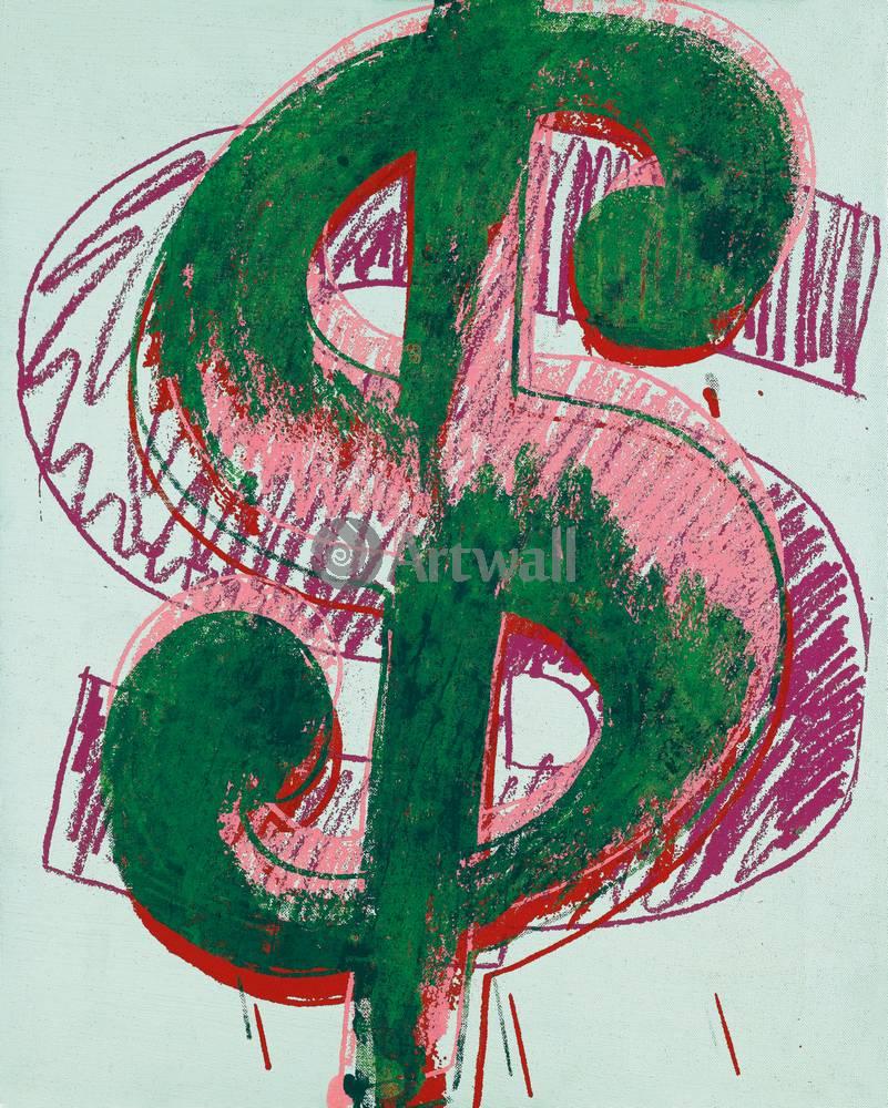 Художники, картина Знак доллара, 20x25 см, на бумагеУорхол Энди<br>Постер на холсте или бумаге. Любого нужного вам размера. В раме или без. Подвес в комплекте. Трехслойная надежная упаковка. Доставим в любую точку России. Вам осталось только повесить картину на стену!<br>