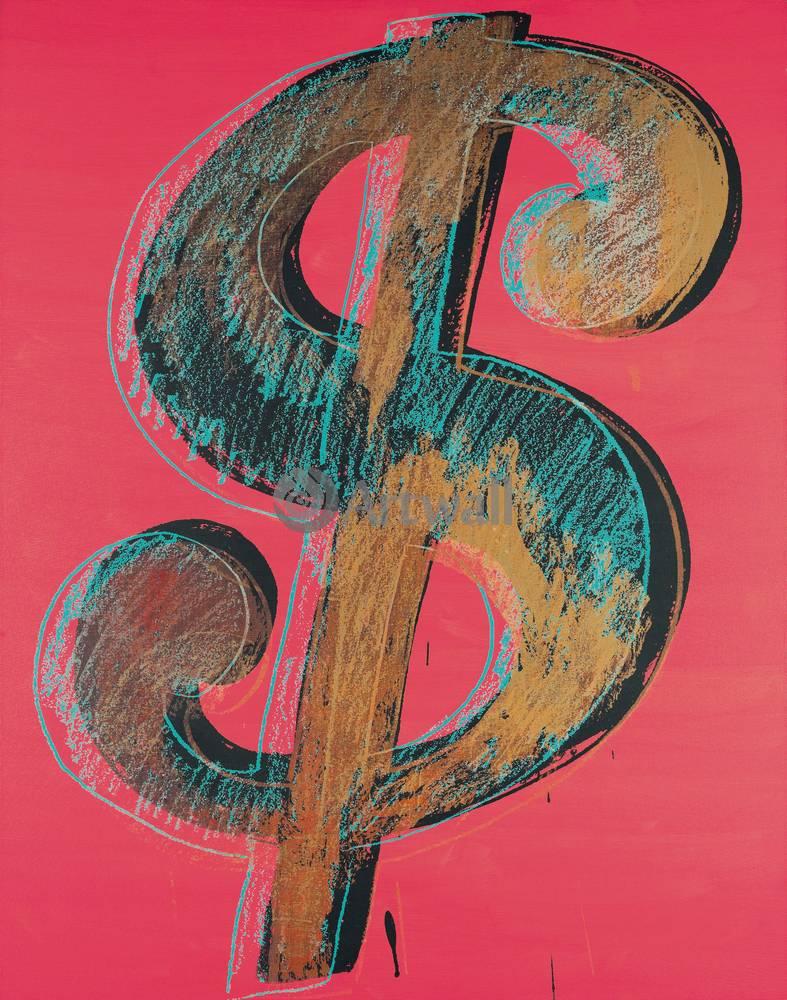 Уорхол Энди, картина Знак доллараУорхол Энди<br>Репродукция на холсте или бумаге. Любого нужного вам размера. В раме или без. Подвес в комплекте. Трехслойная надежная упаковка. Доставим в любую точку России. Вам осталось только повесить картину на стену!<br>