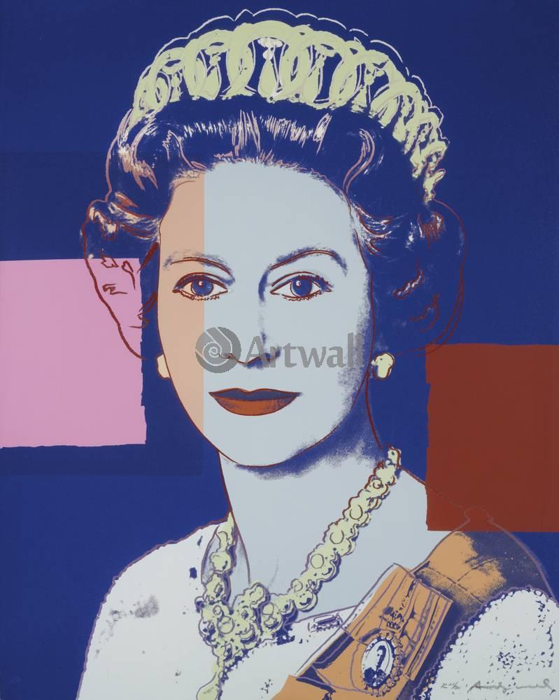 Уорхол Энди, картина Королева Елизавета IIУорхол Энди<br>Репродукция на холсте или бумаге. Любого нужного вам размера. В раме или без. Подвес в комплекте. Трехслойная надежная упаковка. Доставим в любую точку России. Вам осталось только повесить картину на стену!<br>