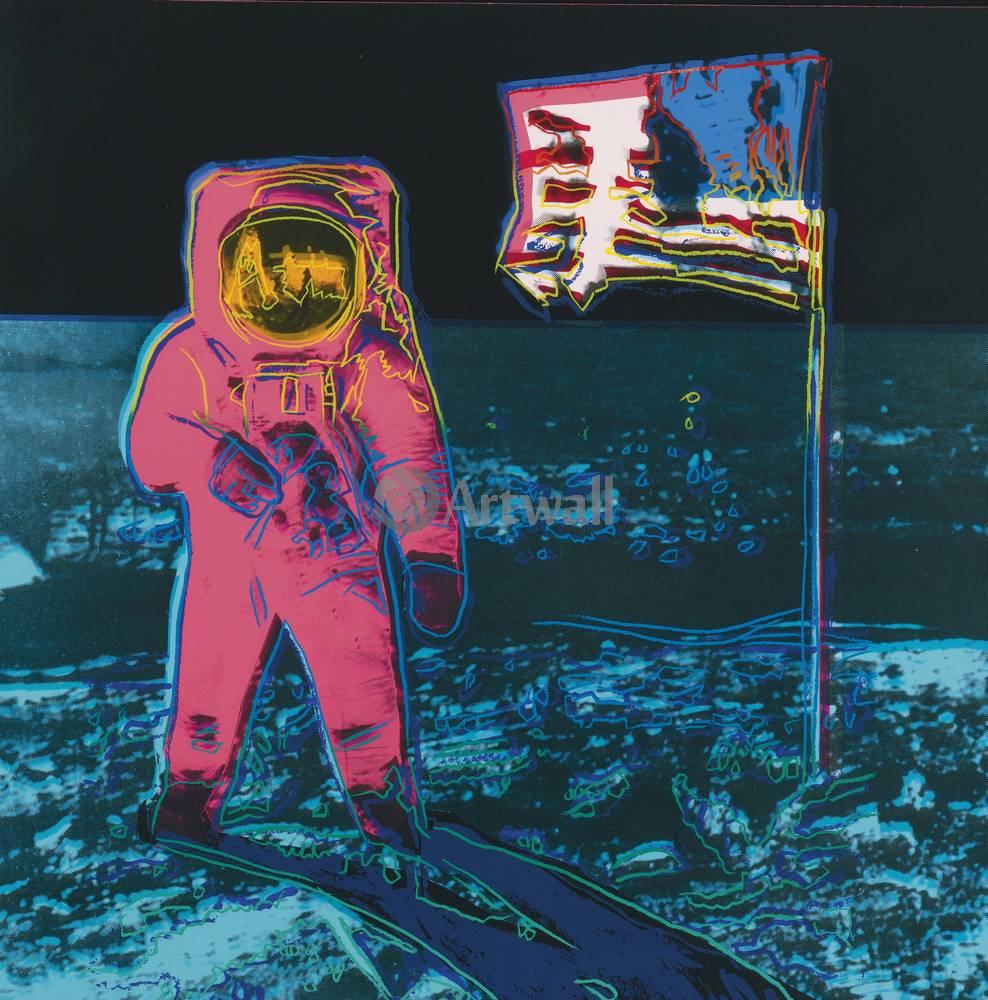 Уорхол Энди, картина Лунная прогулкаУорхол Энди<br>Репродукция на холсте или бумаге. Любого нужного вам размера. В раме или без. Подвес в комплекте. Трехслойная надежная упаковка. Доставим в любую точку России. Вам осталось только повесить картину на стену!<br>