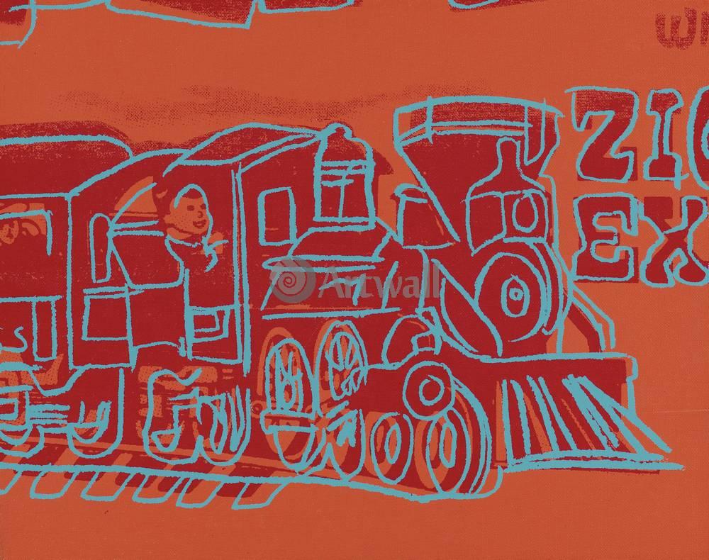 Уорхол Энди, картина ПоездУорхол Энди<br>Репродукция на холсте или бумаге. Любого нужного вам размера. В раме или без. Подвес в комплекте. Трехслойная надежная упаковка. Доставим в любую точку России. Вам осталось только повесить картину на стену!<br>