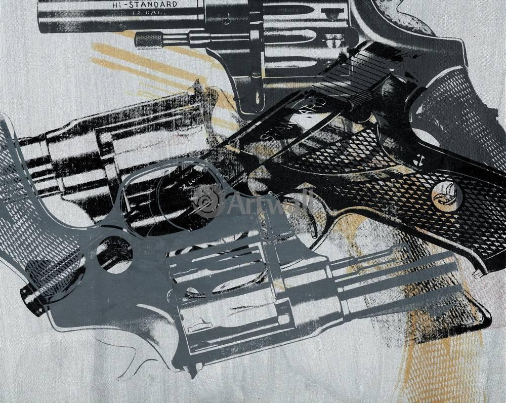 Уорхол Энди, картина Пять пистолетовУорхол Энди<br>Репродукция на холсте или бумаге. Любого нужного вам размера. В раме или без. Подвес в комплекте. Трехслойная надежная упаковка. Доставим в любую точку России. Вам осталось только повесить картину на стену!<br>