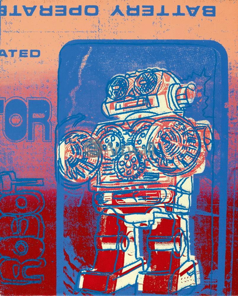 Уорхол Энди, картина РоботУорхол Энди<br>Репродукция на холсте или бумаге. Любого нужного вам размера. В раме или без. Подвес в комплекте. Трехслойная надежная упаковка. Доставим в любую точку России. Вам осталось только повесить картину на стену!<br>