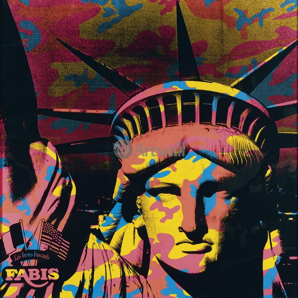Уорхол Энди, картина Статуя свободыУорхол Энди<br>Репродукция на холсте или бумаге. Любого нужного вам размера. В раме или без. Подвес в комплекте. Трехслойная надежная упаковка. Доставим в любую точку России. Вам осталось только повесить картину на стену!<br>