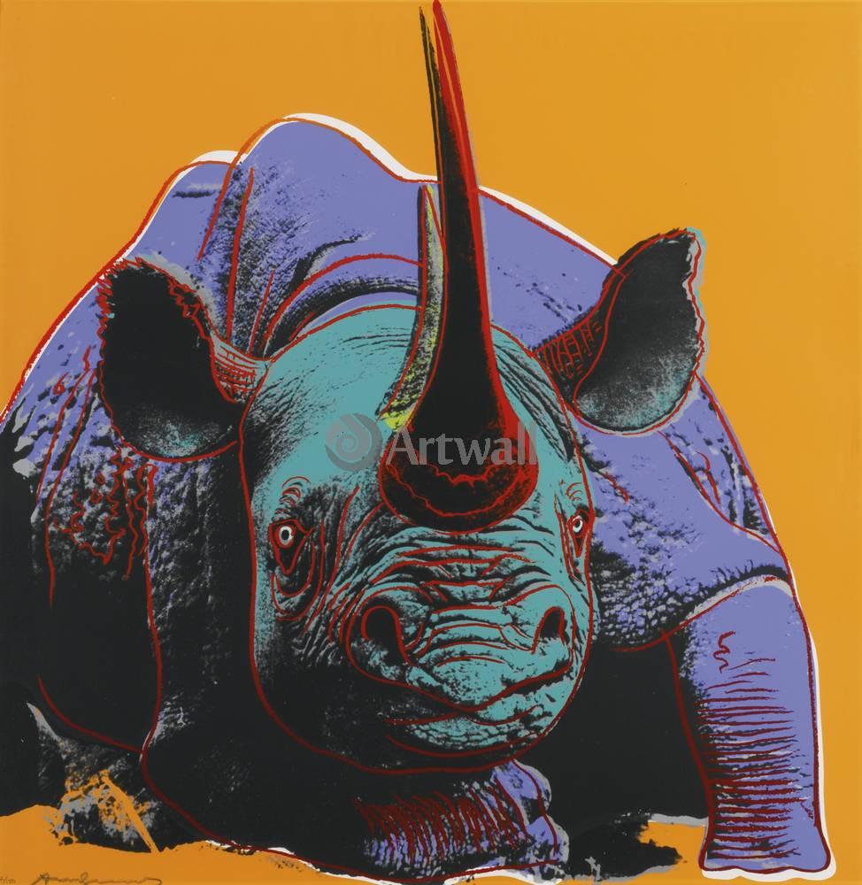Уорхол Энди, картина Черный носорогУорхол Энди<br>Репродукция на холсте или бумаге. Любого нужного вам размера. В раме или без. Подвес в комплекте. Трехслойная надежная упаковка. Доставим в любую точку России. Вам осталось только повесить картину на стену!<br>