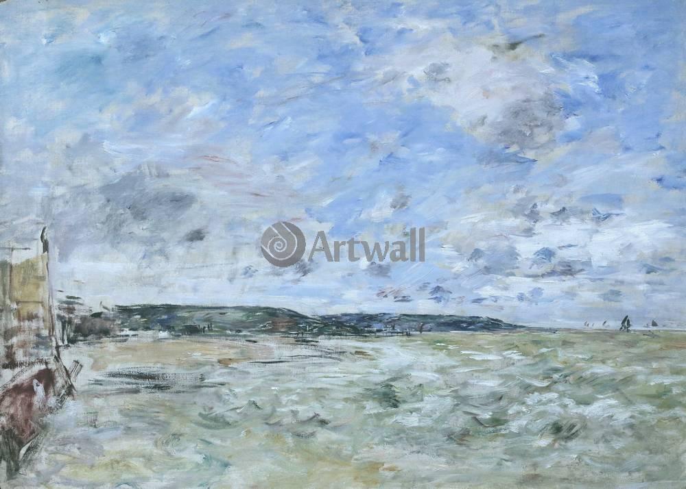 "Буден Эжен, картина ""Трувиль, облачное небо"" от Artwall"