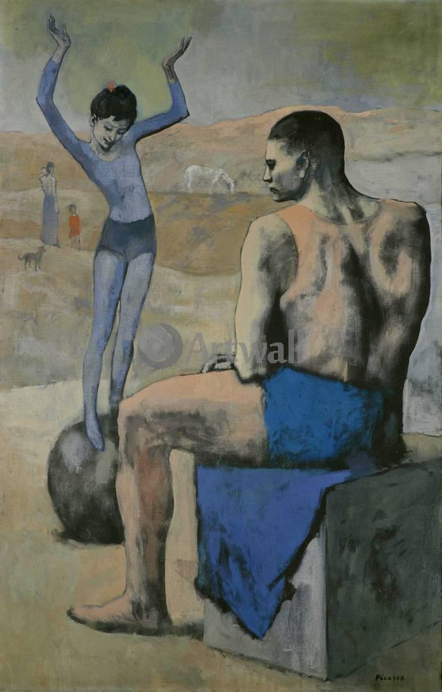 Пикассо Пабло, картина Девочка на шареПикассо Пабло<br>Репродукция на холсте или бумаге. Любого нужного вам размера. В раме или без. Подвес в комплекте. Трехслойная надежная упаковка. Доставим в любую точку России. Вам осталось только повесить картину на стену!<br>