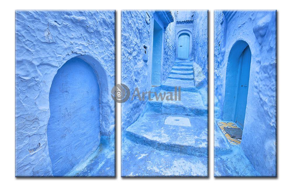 Модульная картина «Марокко»Города<br>Модульная картина на натуральном холсте и деревянном подрамнике. Подвес в комплекте. Трехслойная надежная упаковка. Доставим в любую точку России. Вам осталось только повесить картину на стену!<br>
