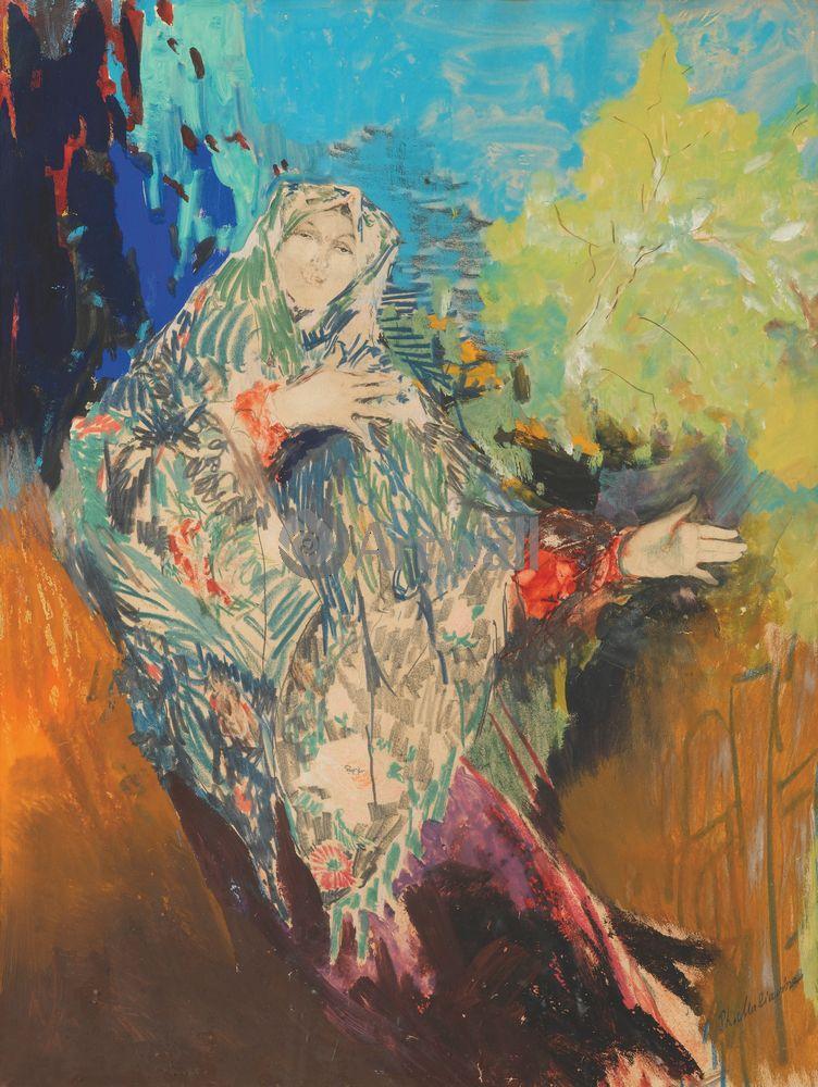 Малявин Филипп, картина Танцующая крестьянкаМалявин Филипп<br>Репродукция на холсте или бумаге. Любого нужного вам размера. В раме или без. Подвес в комплекте. Трехслойная надежная упаковка. Доставим в любую точку России. Вам осталось только повесить картину на стену!<br>