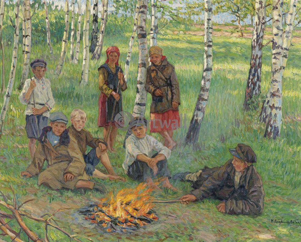 Богданов-Бельский Николай, картина