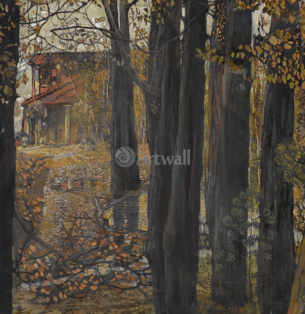Бродский Исаак, картина Осенний пейзажБродский Исаак<br>Репродукция на холсте или бумаге. Любого нужного вам размера. В раме или без. Подвес в комплекте. Трехслойная надежная упаковка. Доставим в любую точку России. Вам осталось только повесить картину на стену!<br>