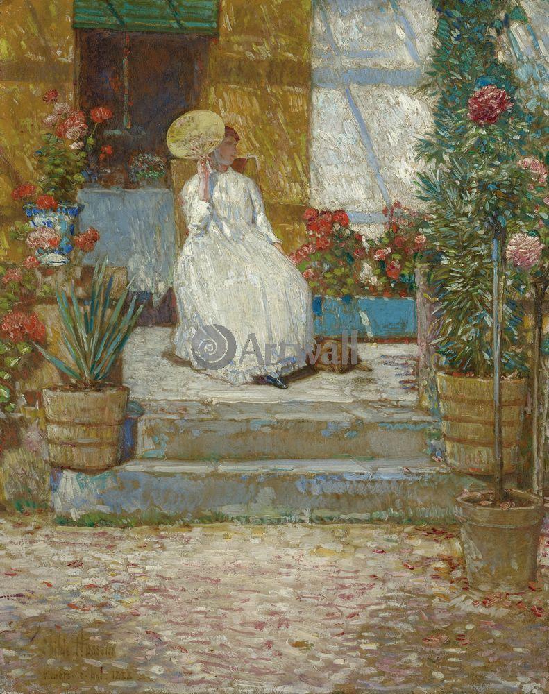 "Гассам Чайльд, картина ""На солнце"" от Artwall"
