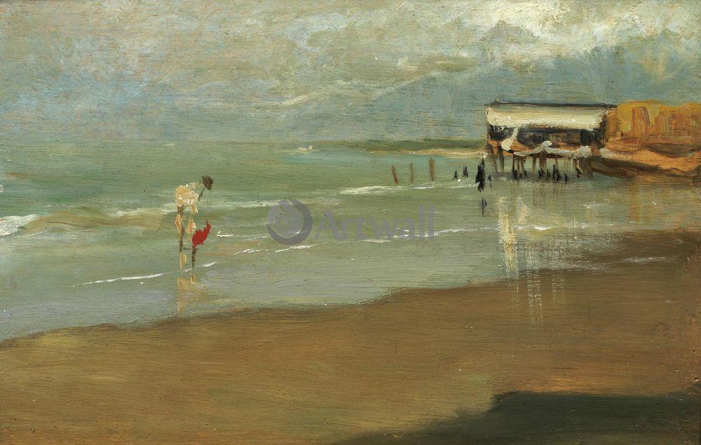 "Соролья Хоакин, картина ""Берег в Галиции"" от Artwall"