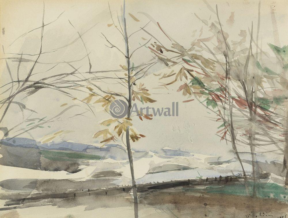 Больдини Джовани, картина Осенние деревьяБольдини Джовани<br>Репродукция на холсте или бумаге. Любого нужного вам размера. В раме или без. Подвес в комплекте. Трехслойная надежная упаковка. Доставим в любую точку России. Вам осталось только повесить картину на стену!<br>