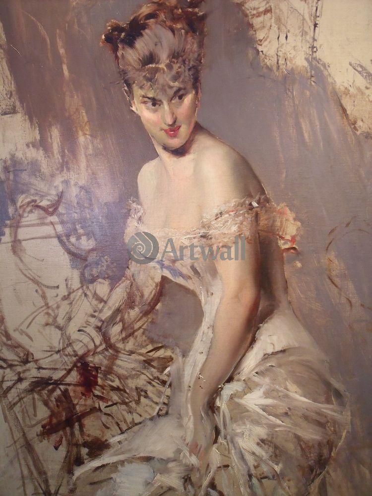 Больдини Джовани, картина Портрет Алисы РегноБольдини Джовани<br>Репродукция на холсте или бумаге. Любого нужного вам размера. В раме или без. Подвес в комплекте. Трехслойная надежная упаковка. Доставим в любую точку России. Вам осталось только повесить картину на стену!<br>