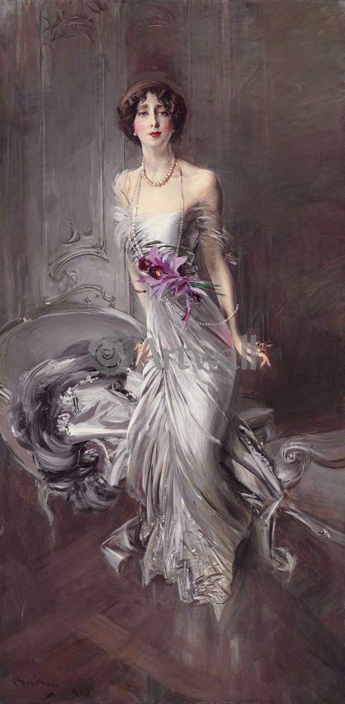 Больдини Джовани, картина Портрет мадам ДойенБольдини Джовани<br>Репродукция на холсте или бумаге. Любого нужного вам размера. В раме или без. Подвес в комплекте. Трехслойная надежная упаковка. Доставим в любую точку России. Вам осталось только повесить картину на стену!<br>