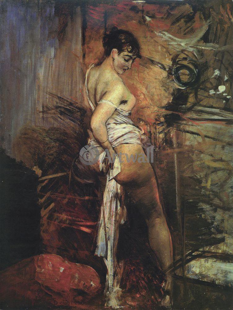 """Больдини Джовани, картина """"Туалет"""" от Artwall"""
