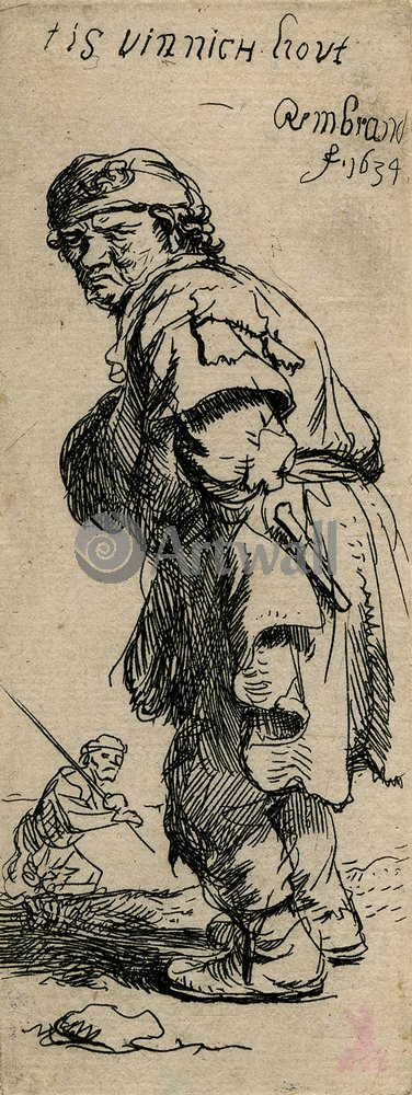 Рембрандт Харменс Ван Рейн - офорты, картина Зовущий крестьянинРембрандт Харменс Ван Рейн - офорты<br>Репродукция на холсте или бумаге. Любого нужного вам размера. В раме или без. Подвес в комплекте. Трехслойная надежная упаковка. Доставим в любую точку России. Вам осталось только повесить картину на стену!<br>