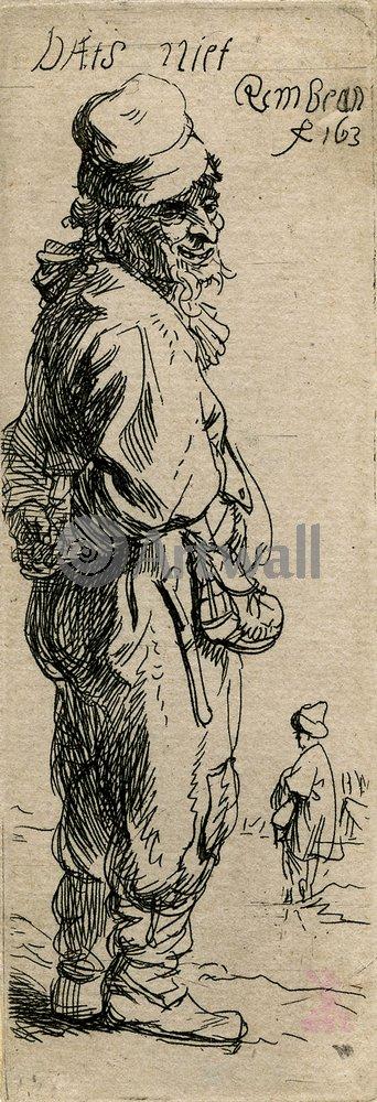 Рембрандт Харменс Ван Рейн - офорты, картина КрестьянинРембрандт Харменс Ван Рейн - офорты<br>Репродукция на холсте или бумаге. Любого нужного вам размера. В раме или без. Подвес в комплекте. Трехслойная надежная упаковка. Доставим в любую точку России. Вам осталось только повесить картину на стену!<br>