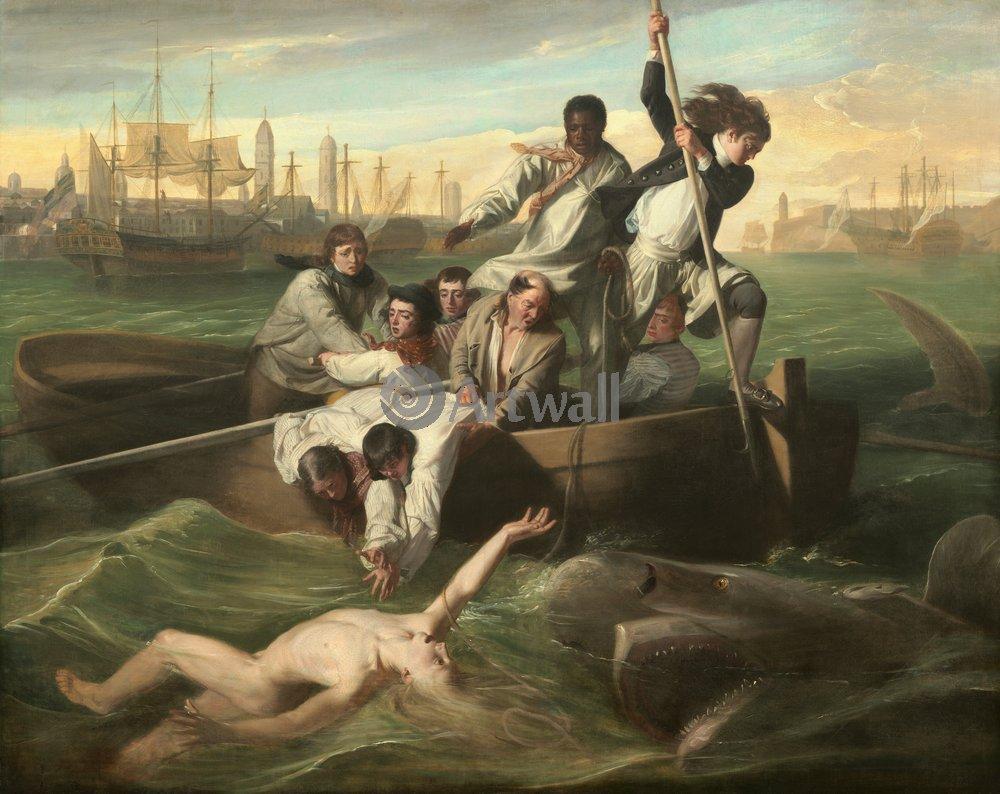 Животные, картина Дон Коипли «Акула»Животные<br>Репродукция на холсте или бумаге. Любого нужного вам размера. В раме или без. Подвес в комплекте. Трехслойная надежная упаковка. Доставим в любую точку России. Вам осталось только повесить картину на стену!<br>