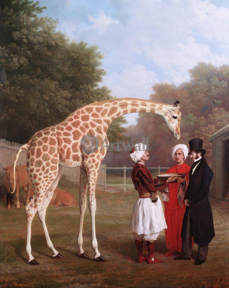 Животные, картина Жак-Лоран Агас «Жираф»Животные<br>Репродукция на холсте или бумаге. Любого нужного вам размера. В раме или без. Подвес в комплекте. Трехслойная надежная упаковка. Доставим в любую точку России. Вам осталось только повесить картину на стену!<br>