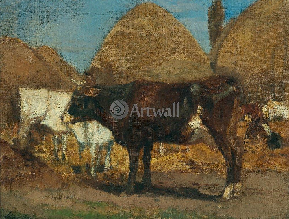 Животные, картина Эмиль Шиндлер «Коровы»Животные<br>Репродукция на холсте или бумаге. Любого нужного вам размера. В раме или без. Подвес в комплекте. Трехслойная надежная упаковка. Доставим в любую точку России. Вам осталось только повесить картину на стену!<br>