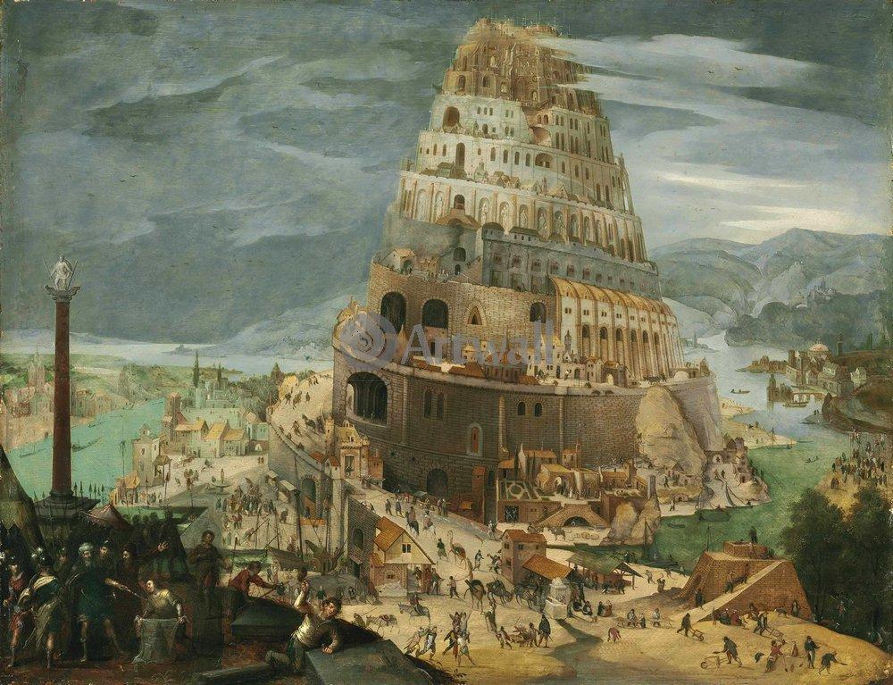 Искусство, картина Абель Гриммер, 26x20 см, на бумагеВавилонская башня<br>Постер на холсте или бумаге. Любого нужного вам размера. В раме или без. Подвес в комплекте. Трехслойная надежная упаковка. Доставим в любую точку России. Вам осталось только повесить картину на стену!<br>