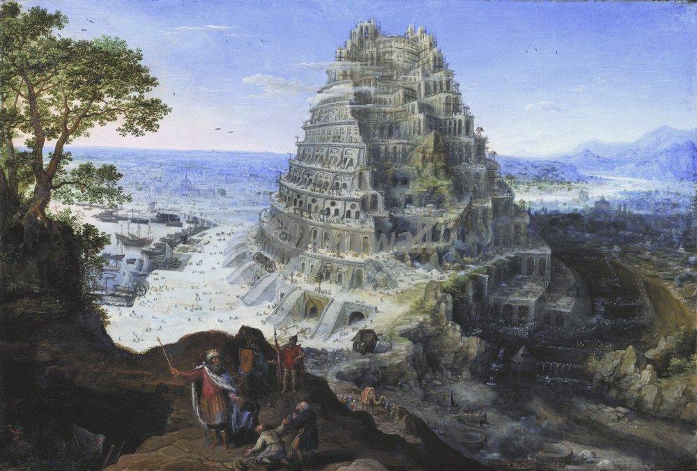 Искусство, картина Лукас ван Валькенборх, 30x20 см, на бумагеВавилонская башня<br>Постер на холсте или бумаге. Любого нужного вам размера. В раме или без. Подвес в комплекте. Трехслойная надежная упаковка. Доставим в любую точку России. Вам осталось только повесить картину на стену!<br>