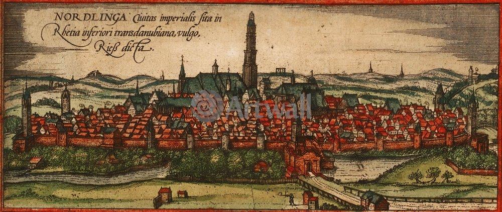 Карты старинных городов, картина НёрдлингенКарты старинных городов<br>Репродукция на холсте или бумаге. Любого нужного вам размера. В раме или без. Подвес в комплекте. Трехслойная надежная упаковка. Доставим в любую точку России. Вам осталось только повесить картину на стену!<br>