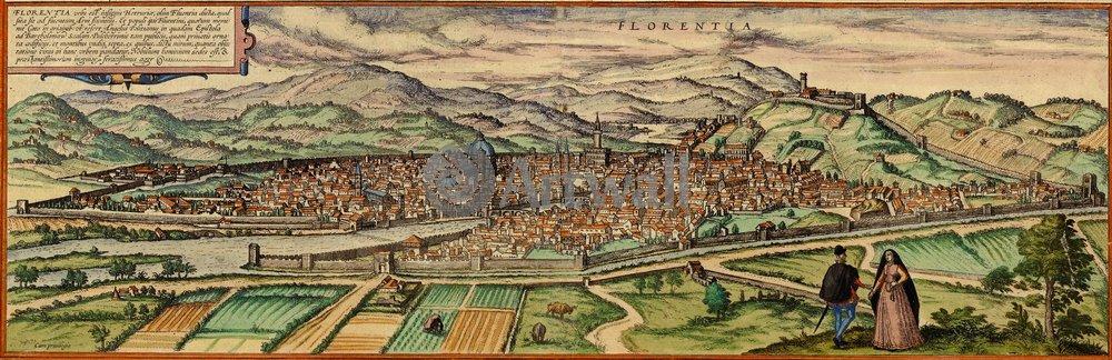 Карты старинных городов, картина ФлоренцияКарты старинных городов<br>Репродукция на холсте или бумаге. Любого нужного вам размера. В раме или без. Подвес в комплекте. Трехслойная надежная упаковка. Доставим в любую точку России. Вам осталось только повесить картину на стену!<br>