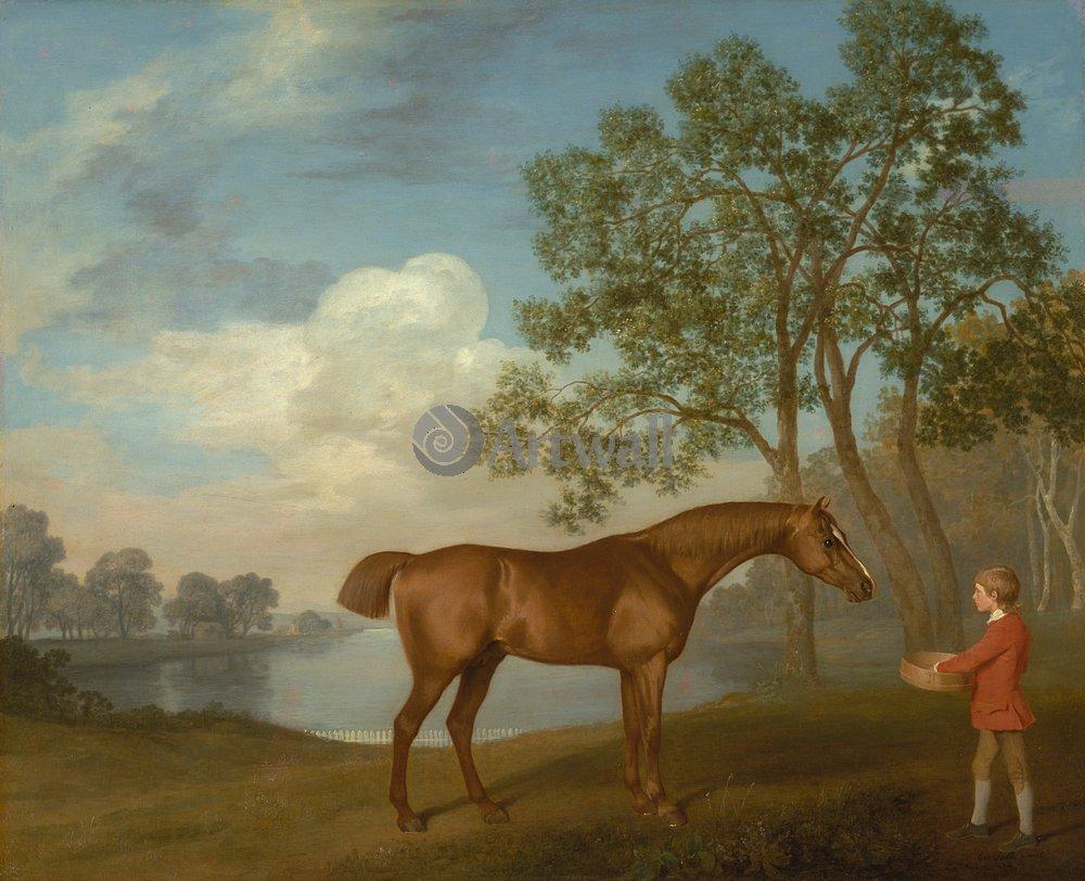 Лошади и всадники, картина Стаббс Джордж «Мальчик, кормящий лошадь»Лошади и всадники<br>Репродукция на холсте или бумаге. Любого нужного вам размера. В раме или без. Подвес в комплекте. Трехслойная надежная упаковка. Доставим в любую точку России. Вам осталось только повесить картину на стену!<br>