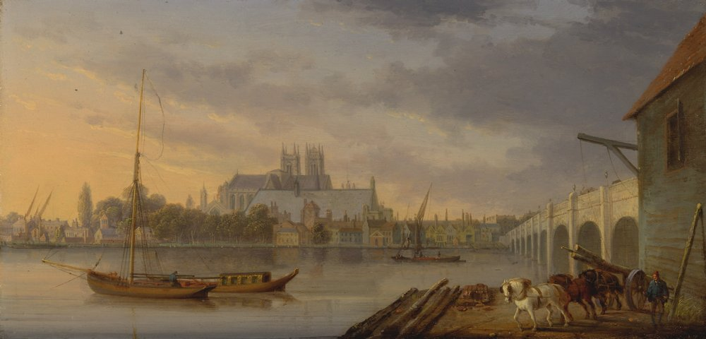 Лондон - старинная живопись и графика, картина Андерсон Уильям «Вестминстерский мост и аббатство»Лондон - старинная живопись и графика<br>Репродукция на холсте или бумаге. Любого нужного вам размера. В раме или без. Подвес в комплекте. Трехслойная надежная упаковка. Доставим в любую точку России. Вам осталось только повесить картину на стену!<br>