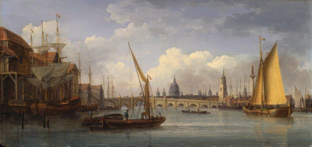 Постер Лондон - старинная живопись и графика Андерсон Уильям «Лондонский мост»Лондон - старинная живопись и графика<br>Постер на холсте или бумаге. Любого нужного вам размера. В раме или без. Подвес в комплекте. Трехслойная надежная упаковка. Доставим в любую точку России. Вам осталось только повесить картину на стену!<br>