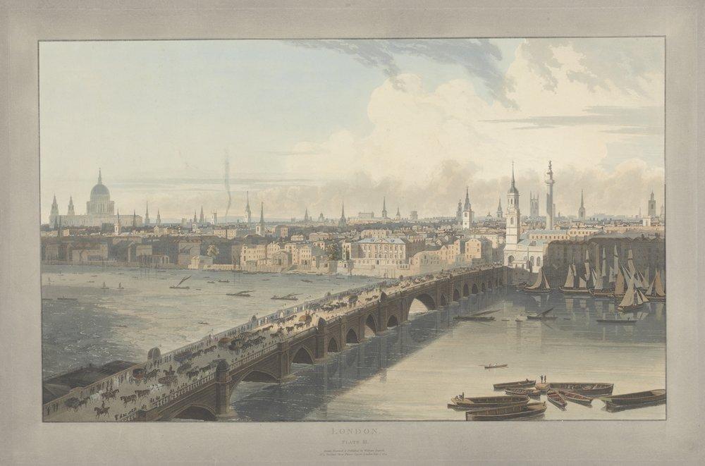 Лондон - старинная живопись и графика, картина Даниэль Уильям «Лондонский мост»Лондон - старинная живопись и графика<br>Репродукция на холсте или бумаге. Любого нужного вам размера. В раме или без. Подвес в комплекте. Трехслойная надежная упаковка. Доставим в любую точку России. Вам осталось только повесить картину на стену!<br>