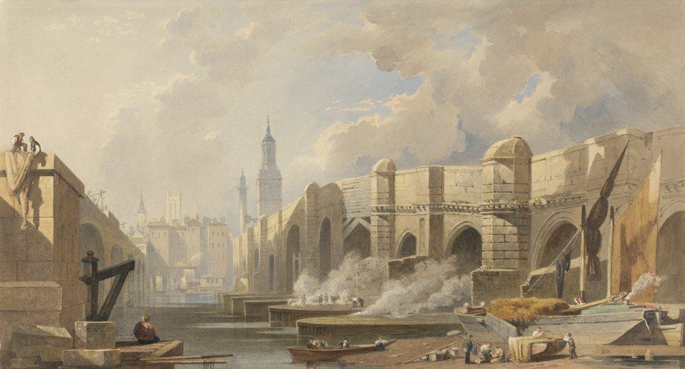 Лондон - старинная живопись и графика, картина Кук Эдвард «Старый и новый Лондонские мосты»Лондон - старинная живопись и графика<br>Репродукция на холсте или бумаге. Любого нужного вам размера. В раме или без. Подвес в комплекте. Трехслойная надежная упаковка. Доставим в любую точку России. Вам осталось только повесить картину на стену!<br>