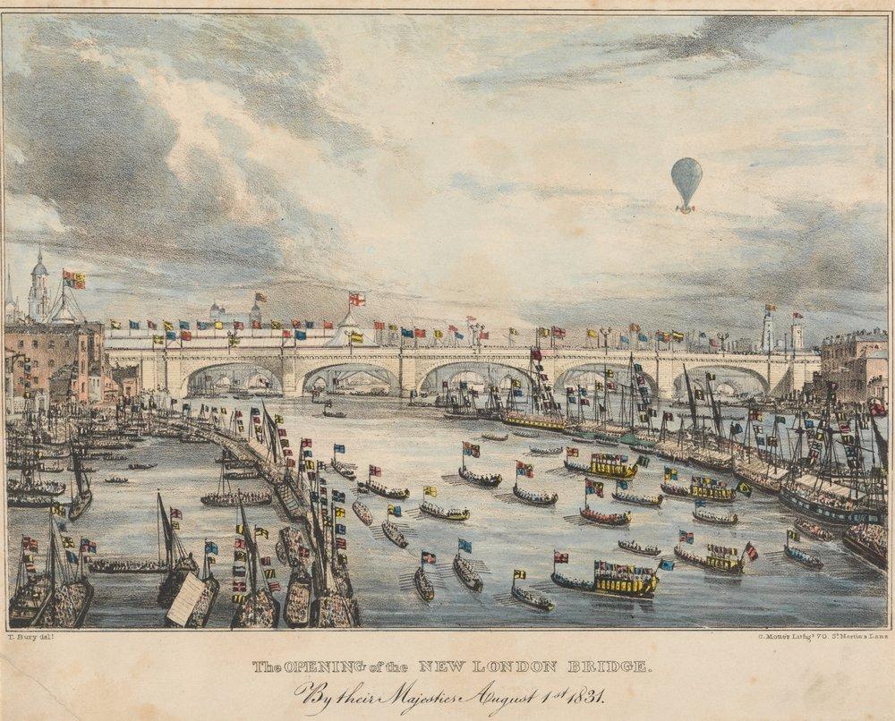 Лондон - старинная живопись и графика, картина Мотт Чарльз «Открытие Лондонского моста»Лондон - старинная живопись и графика<br>Репродукция на холсте или бумаге. Любого нужного вам размера. В раме или без. Подвес в комплекте. Трехслойная надежная упаковка. Доставим в любую точку России. Вам осталось только повесить картину на стену!<br>