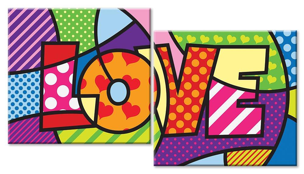 Модульная картина «Love»Любовь<br>Модульная картина на натуральном холсте и деревянном подрамнике. Подвес в комплекте. Трехслойная надежная упаковка. Доставим в любую точку России. Вам осталось только повесить картину на стену!<br>