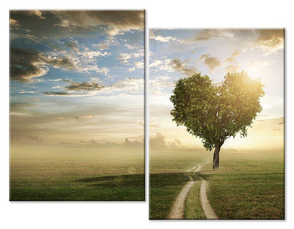 Модульная картина «Рассвет любви»Любовь<br>Модульная картина на натуральном холсте и деревянном подрамнике. Подвес в комплекте. Трехслойная надежная упаковка. Доставим в любую точку России. Вам осталось только повесить картину на стену!<br>