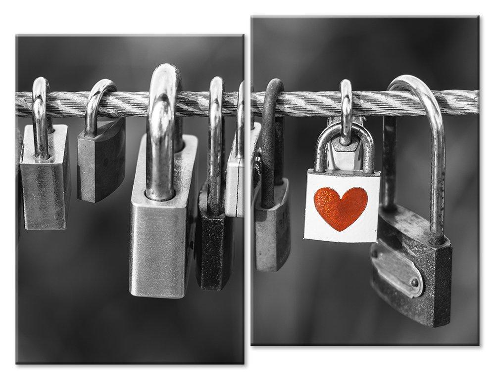 Модульная картина «Замок любви»Любовь<br>Модульная картина на натуральном холсте и деревянном подрамнике. Подвес в комплекте. Трехслойная надежная упаковка. Доставим в любую точку России. Вам осталось только повесить картину на стену!<br>