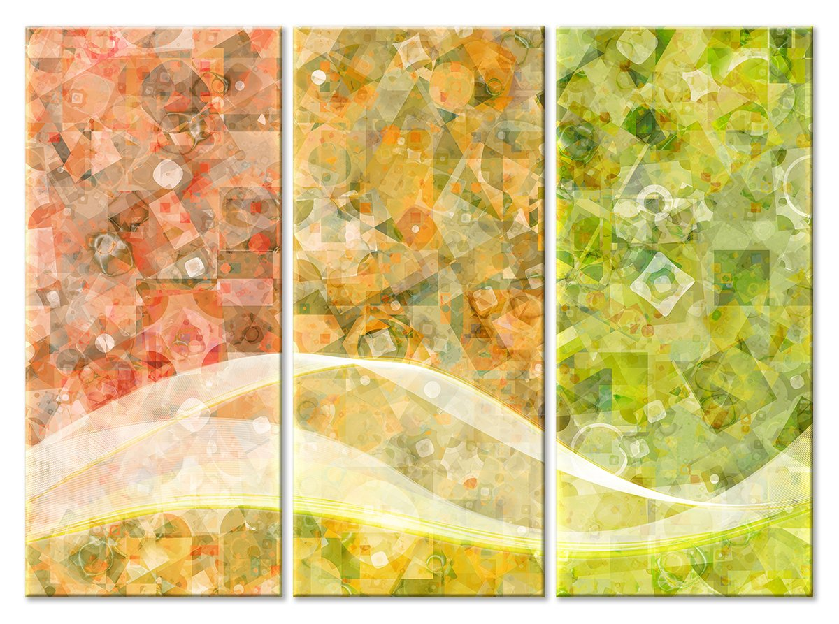 Модульная картина «Сезоны»Абстракция<br>Модульная картина на натуральном холсте и деревянном подрамнике. Подвес в комплекте. Трехслойная надежная упаковка. Доставим в любую точку России. Вам осталось только повесить картину на стену!<br>