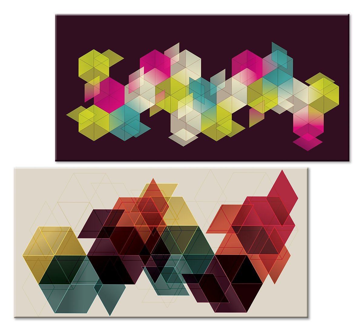 Модульная картина «Геометрия прямых», 55x50 см, модульная картинаАбстракция<br>Модульная картина на натуральном холсте и деревянном подрамнике. Подвес в комплекте. Трехслойная надежная упаковка. Доставим в любую точку России. Вам осталось только повесить картину на стену!<br>