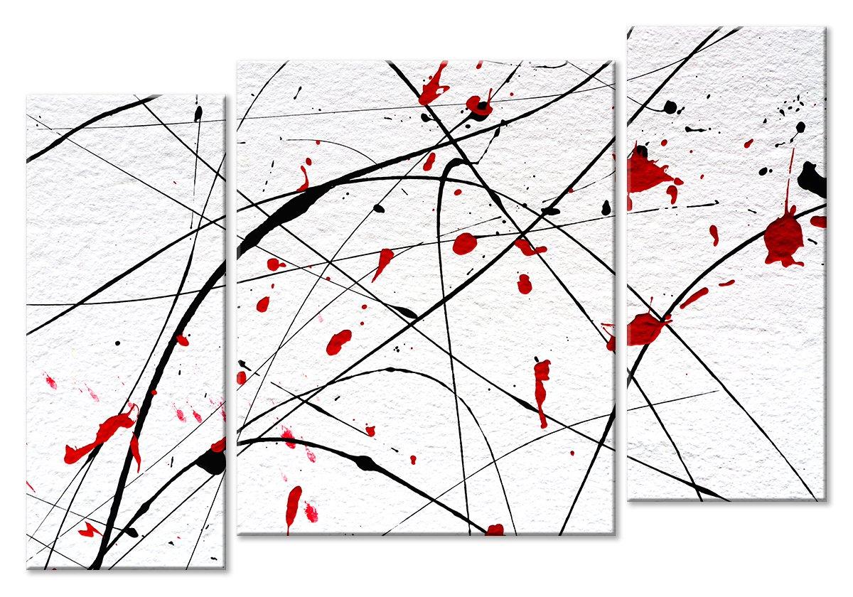 Модульная картина «Калиграфия»Абстракция<br>Модульная картина на натуральном холсте и деревянном подрамнике. Подвес в комплекте. Трехслойная надежная упаковка. Доставим в любую точку России. Вам осталось только повесить картину на стену!<br>