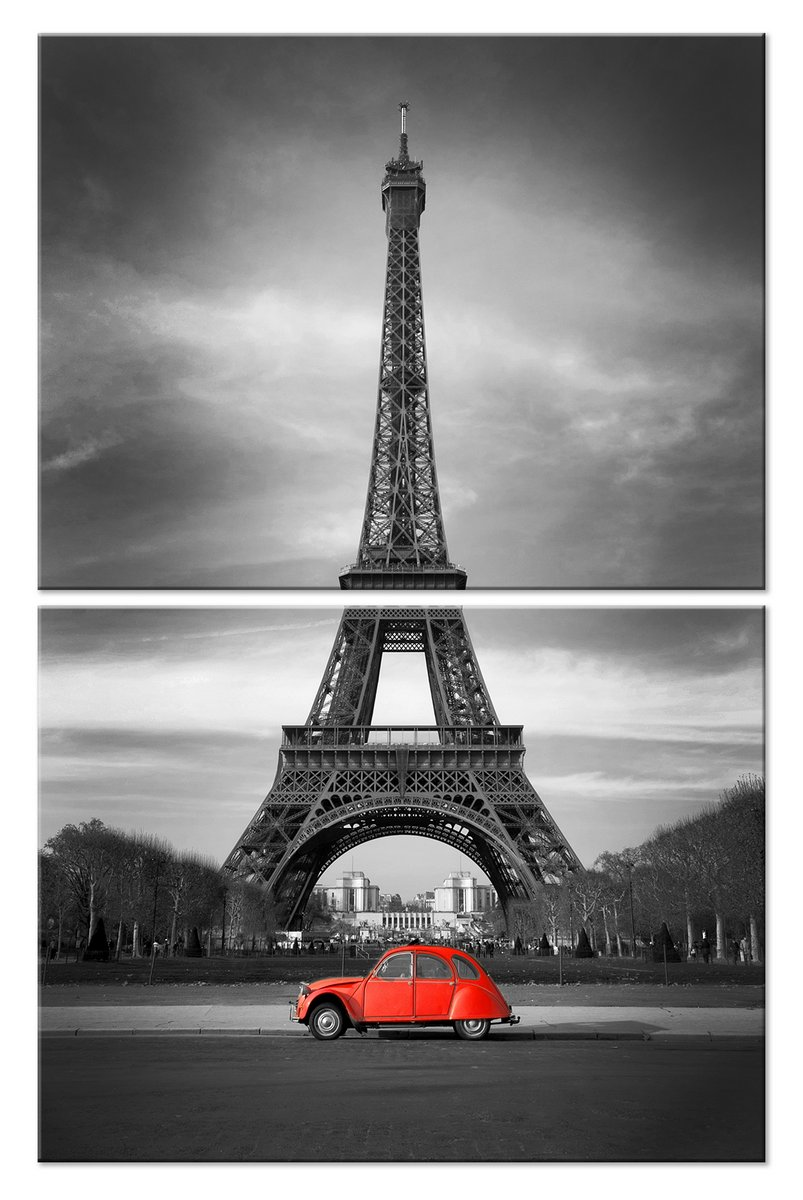 Модульная картина «Париж»Города<br>Модульная картина на натуральном холсте и деревянном подрамнике. Подвес в комплекте. Трехслойная надежная упаковка. Доставим в любую точку России. Вам осталось только повесить картину на стену!<br>