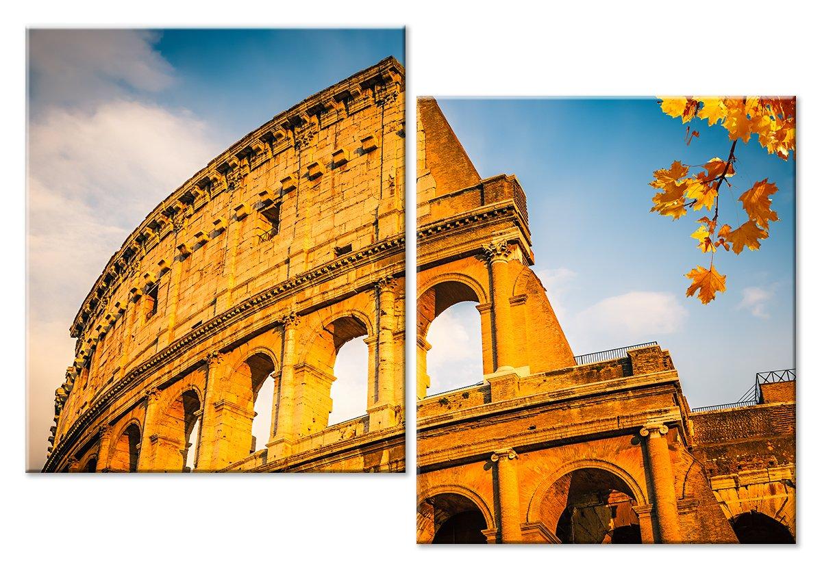 Модульная картина «Римский колизей»Города<br>Модульная картина на натуральном холсте и деревянном подрамнике. Подвес в комплекте. Трехслойная надежная упаковка. Доставим в любую точку России. Вам осталось только повесить картину на стену!<br>