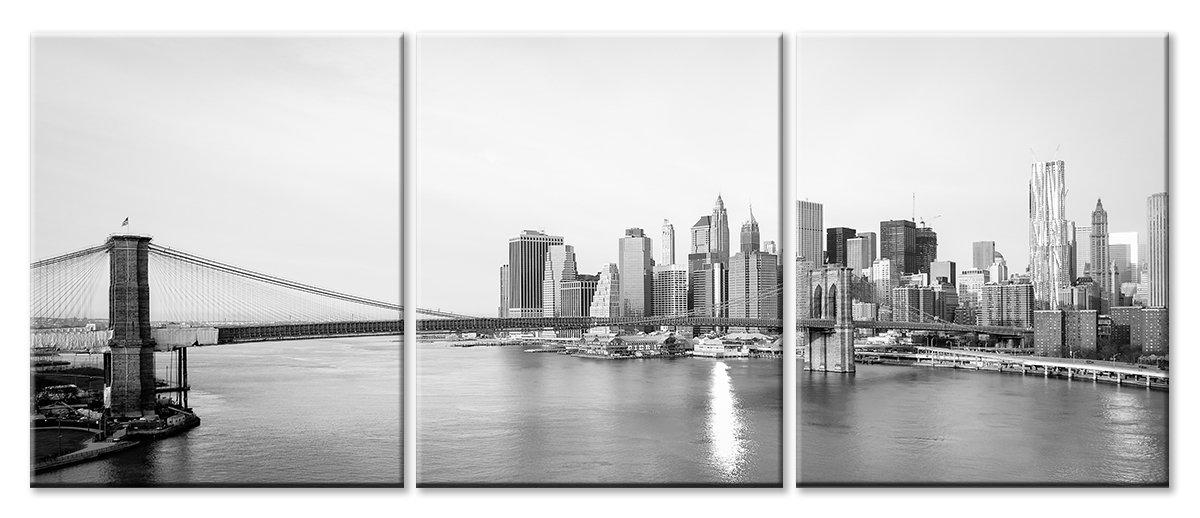Модульная картина «Нью-Йорк»Города<br>Модульная картина на натуральном холсте и деревянном подрамнике. Подвес в комплекте. Трехслойная надежная упаковка. Доставим в любую точку России. Вам осталось только повесить картину на стену!<br>