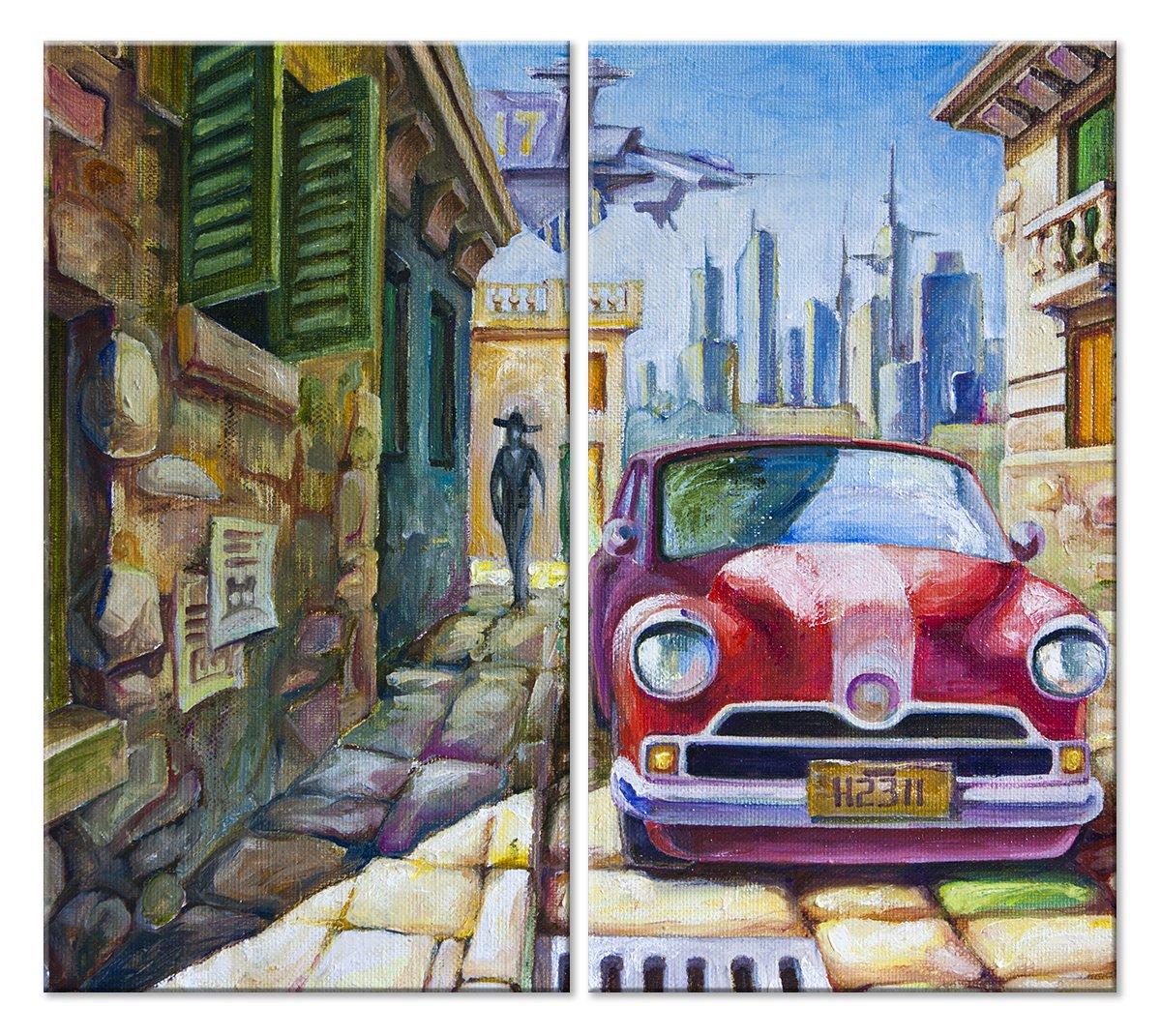 Модульная картина «Грани архитектуры»Города<br>Модульная картина на натуральном холсте и деревянном подрамнике. Подвес в комплекте. Трехслойная надежная упаковка. Доставим в любую точку России. Вам осталось только повесить картину на стену!<br>