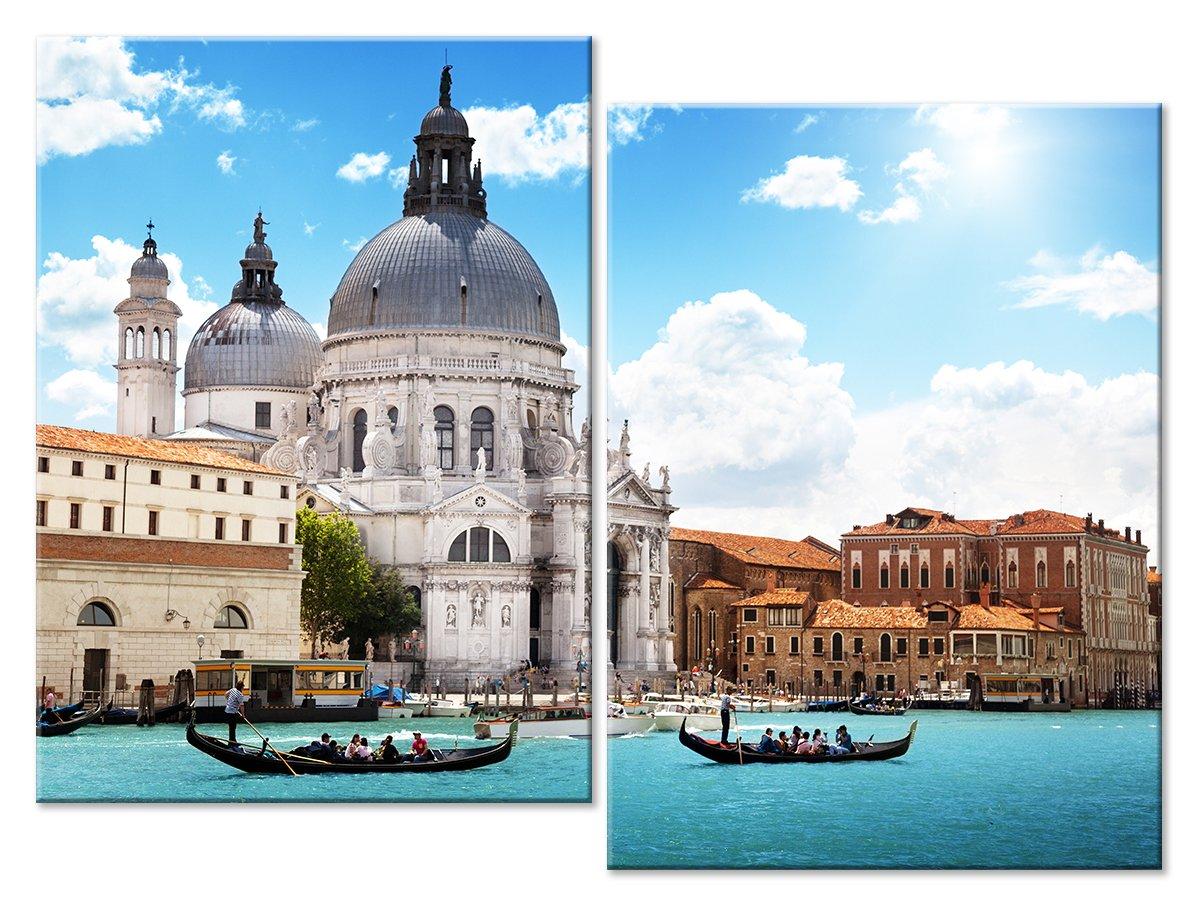 Модульная картина «Собор в Венеции»Города<br>Модульная картина на натуральном холсте и деревянном подрамнике. Подвес в комплекте. Трехслойная надежная упаковка. Доставим в любую точку России. Вам осталось только повесить картину на стену!<br>